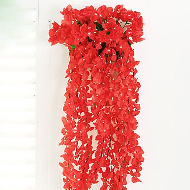 Kunstige blomster 1pcs Gren Moderne Stil Hortensiaer Veggblomst