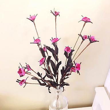 1 1 Afdeling Polyester / Plastik Brudeslør Bordblomst Kunstige blomster 21.6inch/55cm