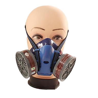 industrielle beskyttende støvgassmasker (materiale: gummi&plast&aktivert karbon;)