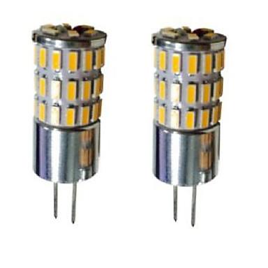 G4 Luminárias de LED  Duplo-Pin T 48 leds SMD 3014 Decorativa Branco Quente Branco Frio Branco Natural 300-450lm 3000-6000K DC 12V