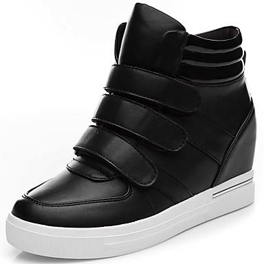 Dame-Syntetisk-Flat hæl-Cowboystøvler-Treningssko-Fritid Sport-Svart Brun
