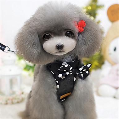 Hond Jassen Hondenkleding Casual/Dagelijks Strik Zwart Rood Kostuum Voor huisdieren