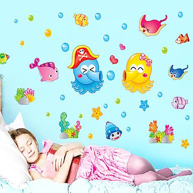 Dyr / Still Life / Landskap Wall Stickers Fly vægklistermærker Dekorative Mur Klistermærker / Køleskabs klistermærker,pvc MaterialeKan