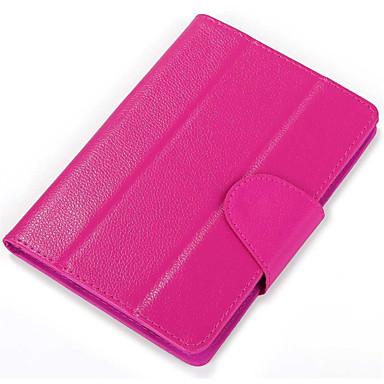 PU Læder Helfarve Tablet Etuier Universal 7