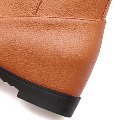 Western à Talons Synthétique Chaussures boîtes Bottes Automne Combat de Hiver Points de Femme Marche Chaussures Cowboy Talon 05172240 Plat 0CdO7nqw