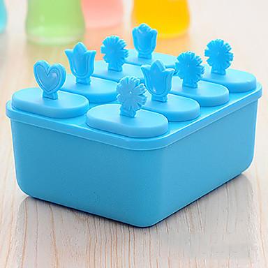 8 Creative Kitchen Gadget Plástico Utensílios de Gelado
