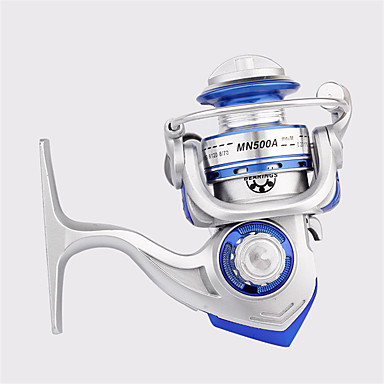 Spinne-hjul 5.0:1 6 Kuglelejer ombyttelig Havfiskeri Spinning Ferskvandsfiskere Generel Fiskeri-MN500A