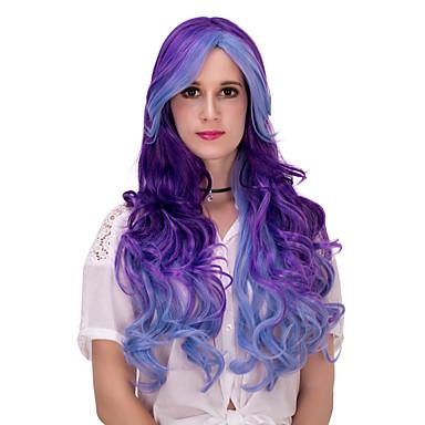 Pelucas sintéticas / Pelucas de Broma Pelo sintético Peluca Mujer Muy largo Sin Tapa