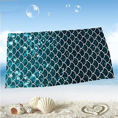 Frisk stil Strandhåndklæde, Reaktivt Print Overlegen kvalitet 100% Mikro Fiber Håndklæde Håndklæde