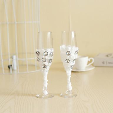 Blyfrit Glas Ristning Flutes 2 Ikke-personaliseret Gaveæske