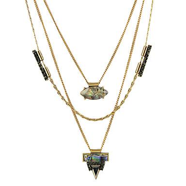 Dame Kædehalskæde Legering Mode Boheme Stil Personaliseret Smykker Til Fest Daglig