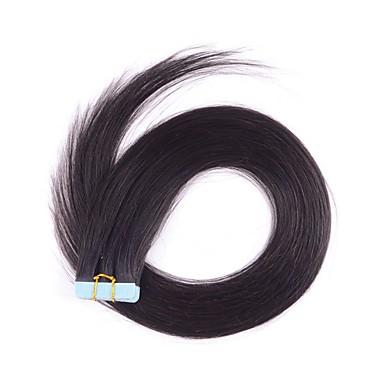 tape / pu / huid haarverlenging brazilian haar met cutile 2,5 g per streng