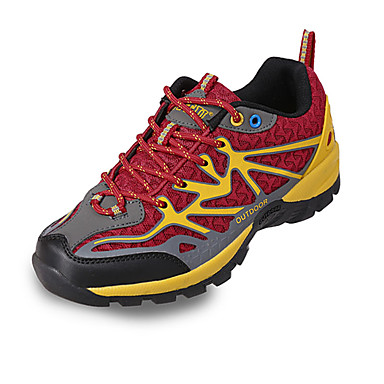 Unisex Schuhe Tüll Frühling Herbst Komfort Sneakers Wandern Schnürsenkel für Normal Purpur Rot Grün Blau Königsblau
