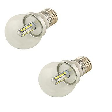 4W E26/E27 LED-globepærer G45 20 SMD 2835 360 lm Kold hvid DekorativVekselstrøm 85-265 Vekselstrøm 220-240 Vekselstrøm 100-240