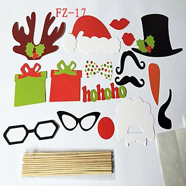 31pcs diy Maske Fotokabine Requisiten Schnurrbart auf einem Stock Hochzeitsdekoration Geburtstagsereignis& Partybilder