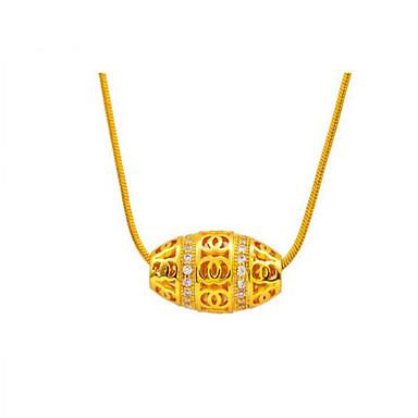 Dames Gepersonaliseerde Luxe Vintage Schattig Feest Werk Informeel Modieus Aanbiddelijk Hangertjes ketting Hangers Kristal Kristal