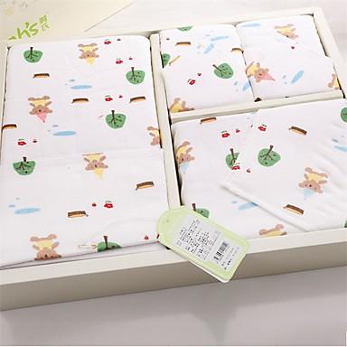 Badehåndkle Sett,Reaktivt Trykk Høy kvalitet 100% Bomull Håndkle