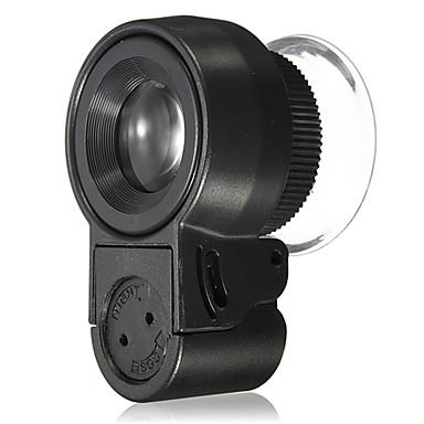 顕微鏡 高解像度 LED ポータブル 45X 30mm