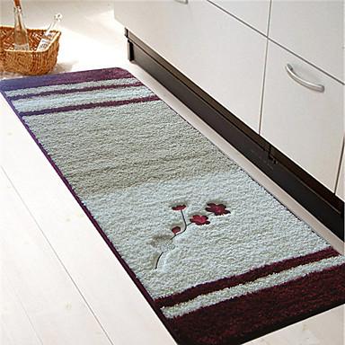 1pç Regional Os tapetes da área Poliéster Contemporâneo Banheiro Fácil de limpar