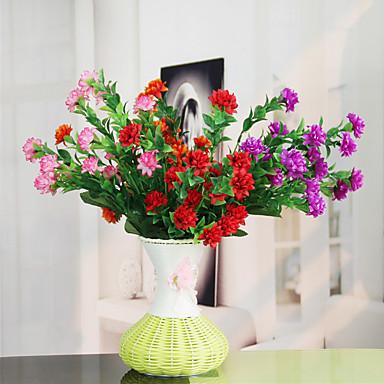 1 1 Afdeling Polyester / Plastik Others Bordblomst Kunstige blomster 14.5inch/37cm
