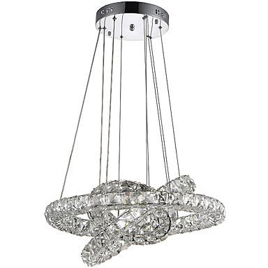 Vedhæng Lys ,  Moderne / Nutidig Galvaniseret Funktion for Krystal LED MetalStue Soveværelse Spisestue Køkken Læseværelse/Kontor