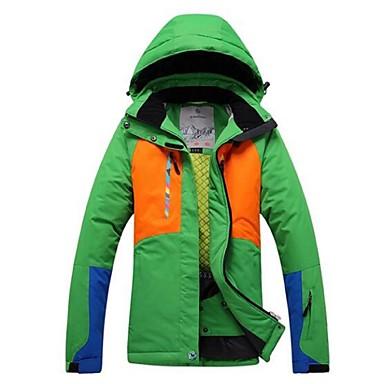 Skitøj Ski/Snowboard Jakker Herre Vintertøj Polyester Vintertøj Hold Varm / Vindtæt / PåføreligCampering & Vandring / Snesport / Alpin /