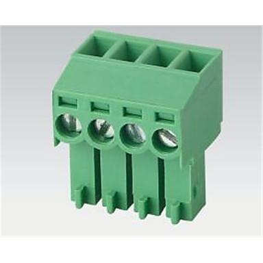 kredsløbselementerne tilbehør 2--24pcopper firkantede plug klemrækker miljøvenlige materialer
