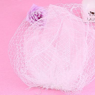 Dame Tyl Net Medaljon-Bryllup Speciel Lejlighed Betagere 1 Stykke