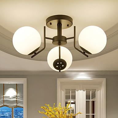 3-Light Takplafond Omgivelseslys - Mini Stil, 110-120V / 220-240V Pære ikke Inkludert / 10-15㎡ / E26 / E27