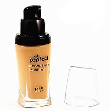 6 Foundation Våd KhakiFugt / Solbeskyttelse / Dekning / Blegende / Olie kontrol / Længerevarende / Concealer / Vandtæt / Ujævn hud /