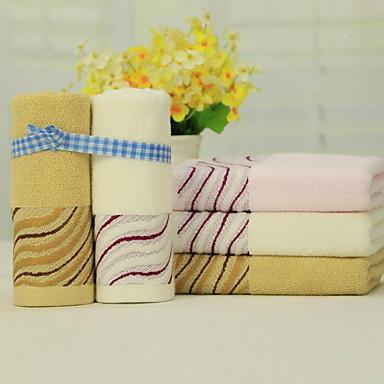Frisk stil Vaskehåndklæde, Reaktivt Print Overlegen kvalitet 100% bomuld Strikket Jacquard Håndklæde
