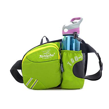 Pochete Cinto Porta-Garrafa Bolsa de cinto para Alpinismo Ciclismo/Moto Corrida Acampar e Caminhar Bolsas para Esporte Multifuncional