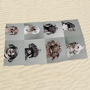 Uimapyyhe,Herkkä tulostus Korkealaatuinen 100% mikrokuitu Pyyhe