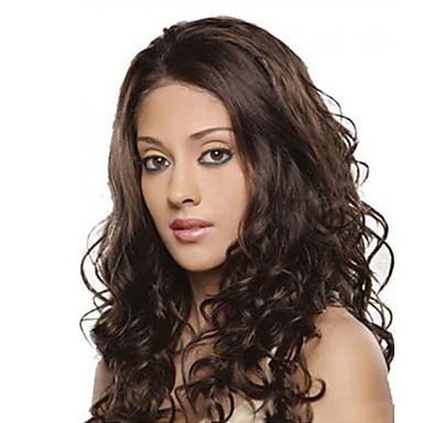 Syntetiske parykker Krop Bølge Syntetisk hår Afro-amerikansk paryk Paryk Dame