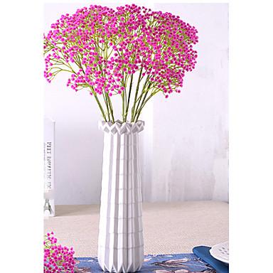 1 1 Afdeling Polyester / Plastik Brudeslør Bordblomst Kunstige blomster 23.22inch/59cm