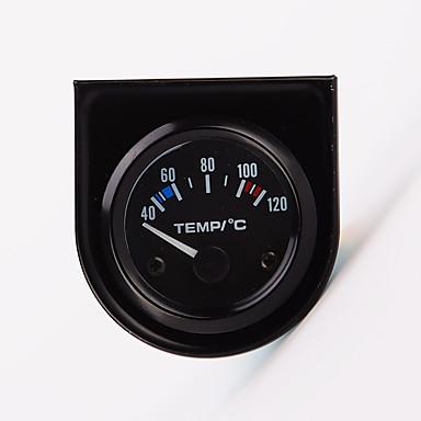 """povoljno Automoto-2 """"52mm 12V temperatura univerzalni auto kazaljka Temperatura vode Mjerač 40-120 bijelo vodio"""