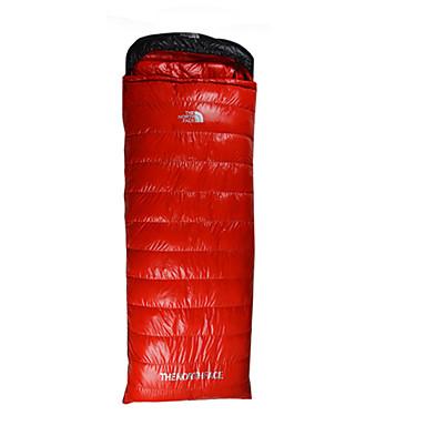 COLD HILL Saco de dormir Retangular Penas de Pato -5°C Manter Quente Prova-de-Água Compressão 210 Equitação Campismo COLD HILL Solteiro