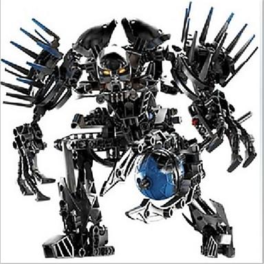 Til Gave Byggeklodser Model- og byggelegetøj Robot ABS Rød Legetøj