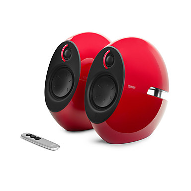 Innendørs Dockingsstasjon Bluetooth Bluetooth 4.0 Subwoofer Hvit Rød