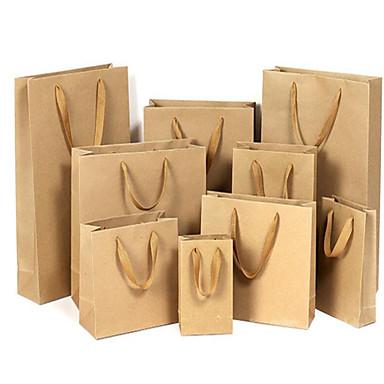 kraftpapir papirposer taske beklædningsgenstand taske gavepose poser universelle poser reklameposer tilpasset en pakke fem