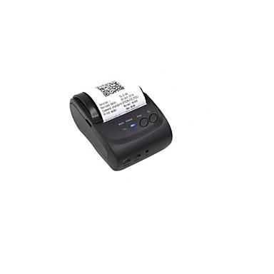 mini-recibo impressora térmica (fonte de alimentação: dc / 9v 1500mA ou CC 7.4v / 2a, Interface: USB, porta serial, bluetooth)