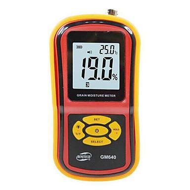 amarelo cereais detector de umidade que funcionam com bateria