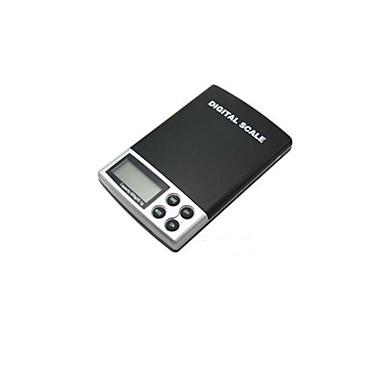 kannettava koruja elektroninen vaaka (punnitusalue: 1000g / 0,1 g)