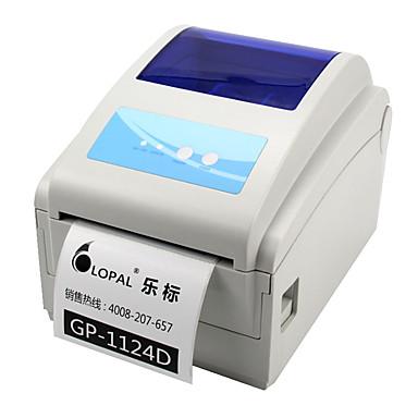 jia bo gp-1124d elektronisk utsending plan enkelt strekkode skriver termisk papir etikettskriver