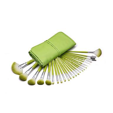 24 Brush Sets Nylon Børste Bærbar Træ Ansigt ShangYang