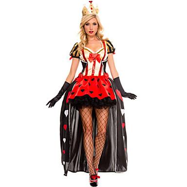 Conto de Fadas Queen Fantasias de Cosplay Festa a Fantasia Feminino Dia Das Bruxas Oktoberfest Festival / Celebração Trajes da Noite das