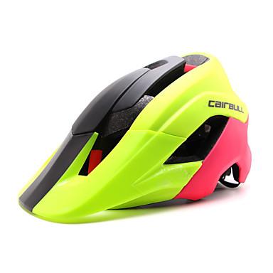 abordables Casques de Cyclisme-CAIRBULL Adulte 15 Aération CE EN 1077 EPS PC Des sports Vélo tout terrain / VTT Cyclisme sur Route Randonnée - Rouge noir / vert Rouge + bleu. Homme Femme Unisexe