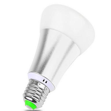 900 lm E26/E27 Lâmpada de LED Inteligente BR 12 leds SMD 5050 Regulável Decorativa Controle Remoto RGB AC 85-265V