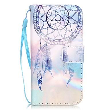 Hülle Für iPhone 7 / iPhone 7 plus / iPhone 6s Plus iPhone 7 / iPhone 7 Plus / iPhone 6 Kreditkartenfächer / Muster Ganzkörper-Gehäuse Traumfänger Hart PU-Leder für iPhone 7 Plus / iPhone 7 / iPhone