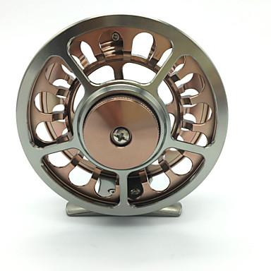 Isfiskehjul Flue Hjul 1:1 Gear Forhold+2 Kulelager Hånd Orientering Byttbar Fluefisking Agn Kasting - HR-90